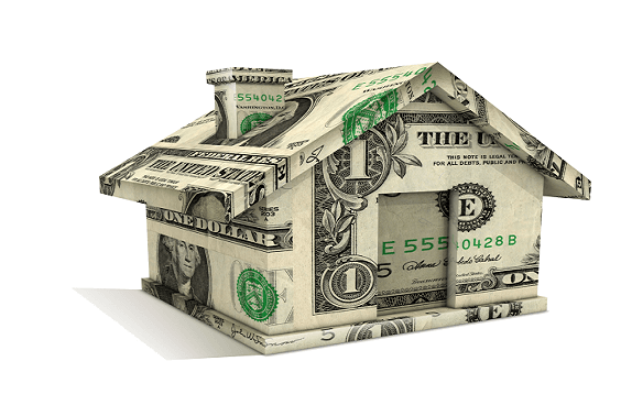 2019 Homestead Exemption- House made of money (PNG)