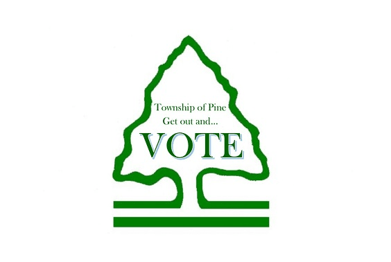 Township of Pine get out and vote (PNG)