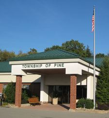 Township of Pine Building Entrance