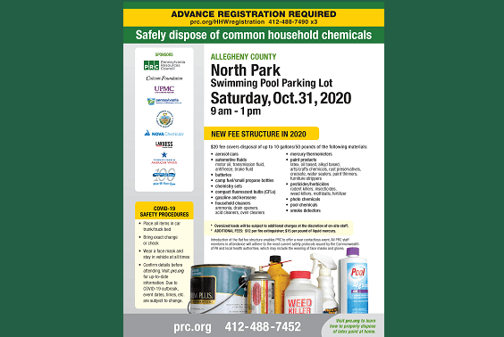 PRC Hard to Recycle at North Park Pool Flyer