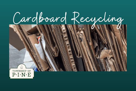 Carboard Recycling with flat boxes