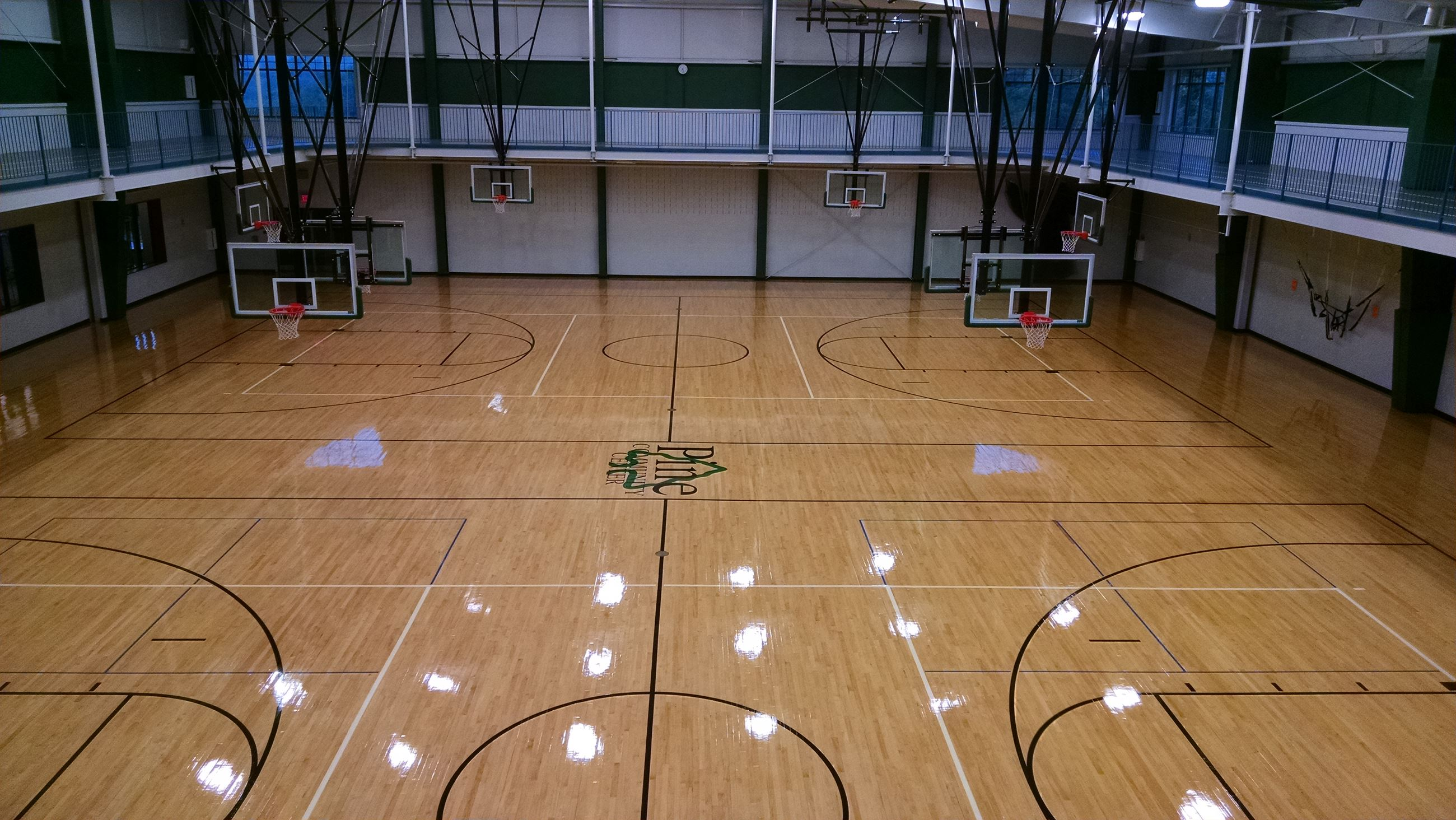 Pine Community Center Gymnasium